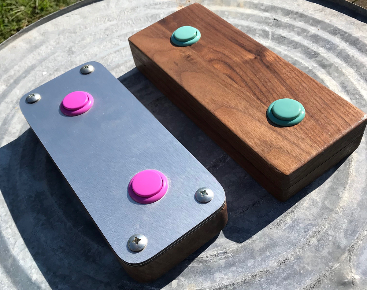 Versions 1 and 2 of the Kick Bot Controller by Two Scoop Games